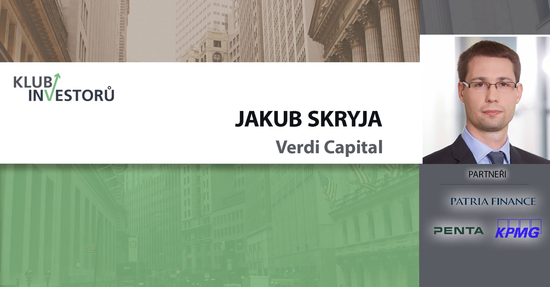 Jakub Skryja about investment traps