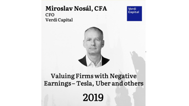 "​""Valuing firms with negative earnings – Tesla, Uber and others"""